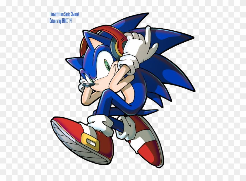 Sonic The Hedgehog Sonic The Hedgehog Headphones Free Transparent Png Clipart Images Download