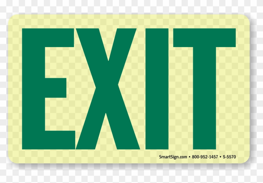 Zoom, Price, Buy - Exit Sign #712192