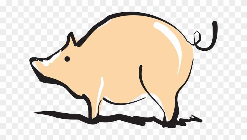 Animal Barn, Farm, Pig, Art, Shiny, Animal - Shiny Pig #712281