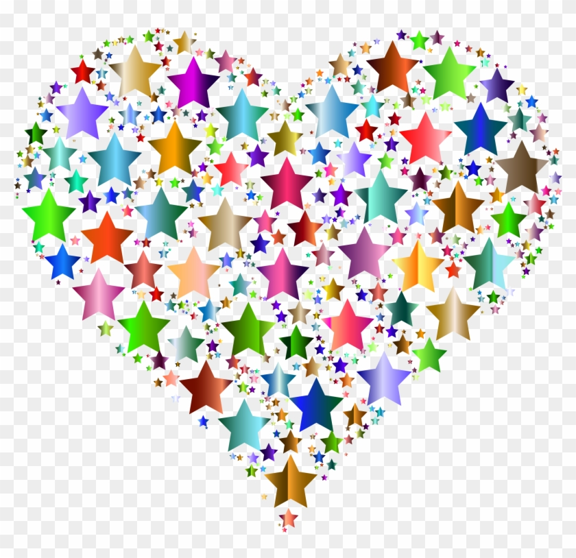 Cool Small Hearts Clip Art Medium Size - Colorful Hearts Transparent Background #712612
