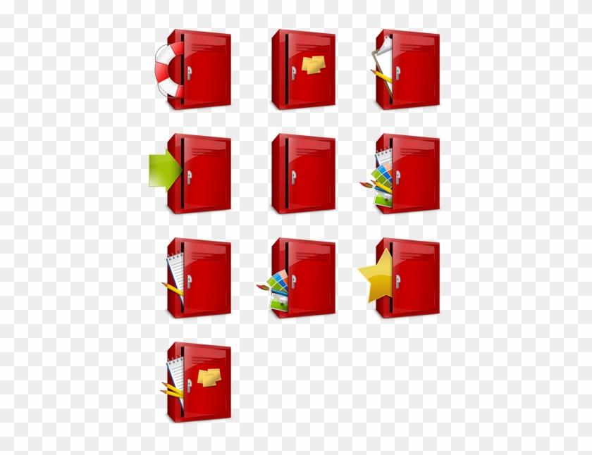Shiny Lockers - Locker Icon #713492