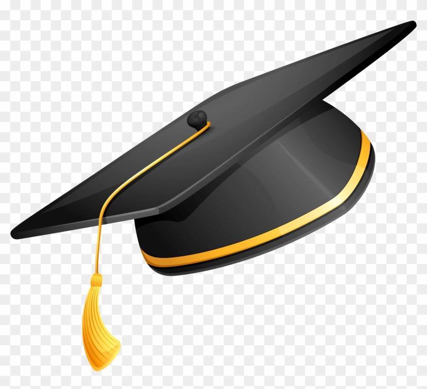 Download Degree Hat Png Clipart - Graduation Cap Png #713855