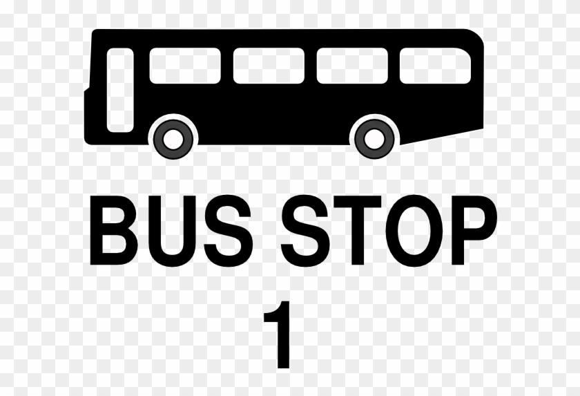 Sign Of Bus Stop #713909