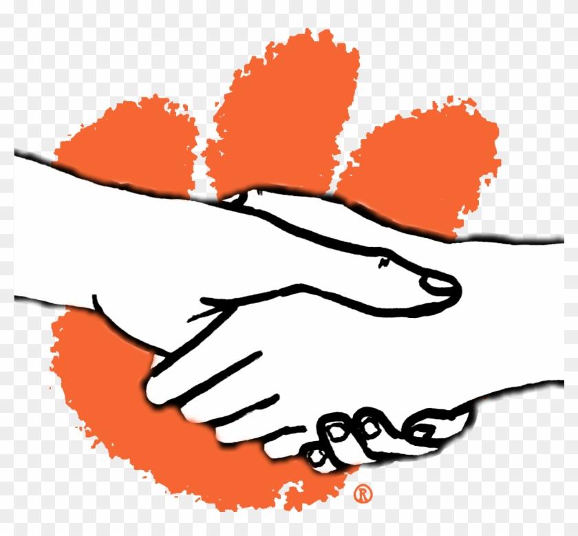 Clemson Helper - Clemson Tiger Paw Logo #714104