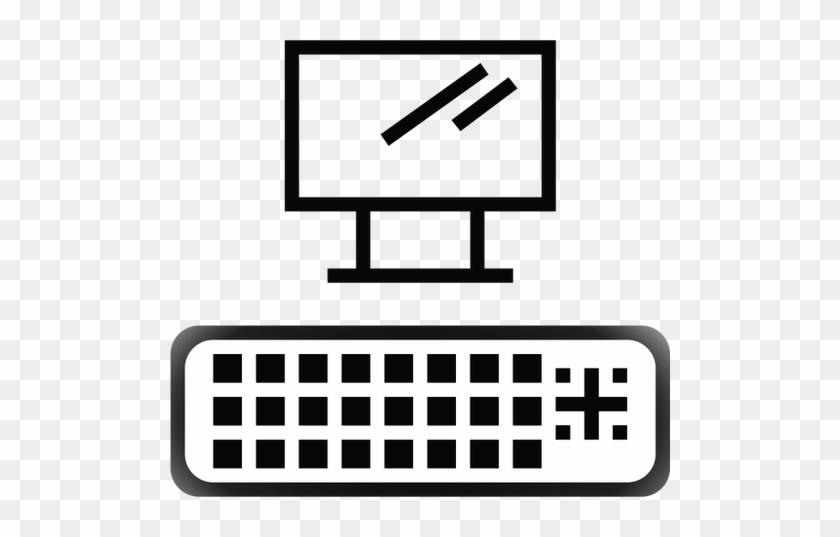 Cable Dvi Port Symbol Clipart - Gestalt Law Of Similarity #714600