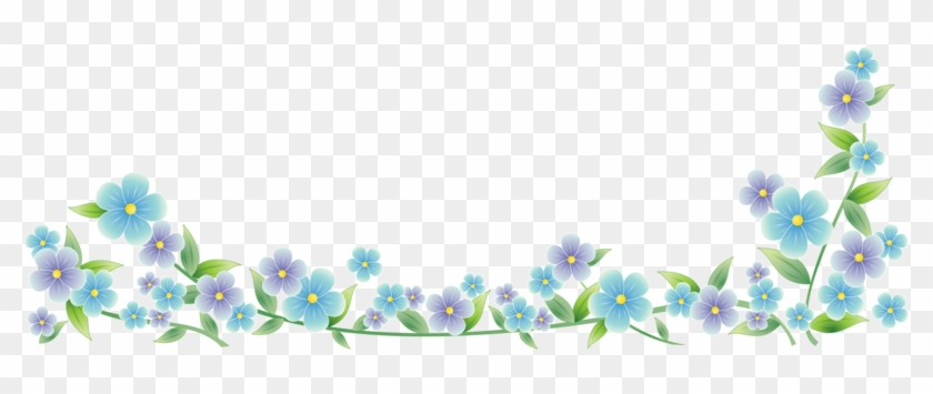 Forget Me Nots Dividers - Forget Me Not Divider #716246