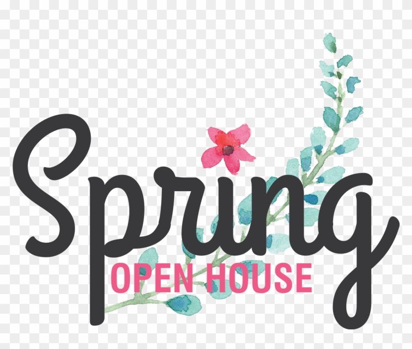 Pin Open House Images Clip Art - Spring Open House Event #716523