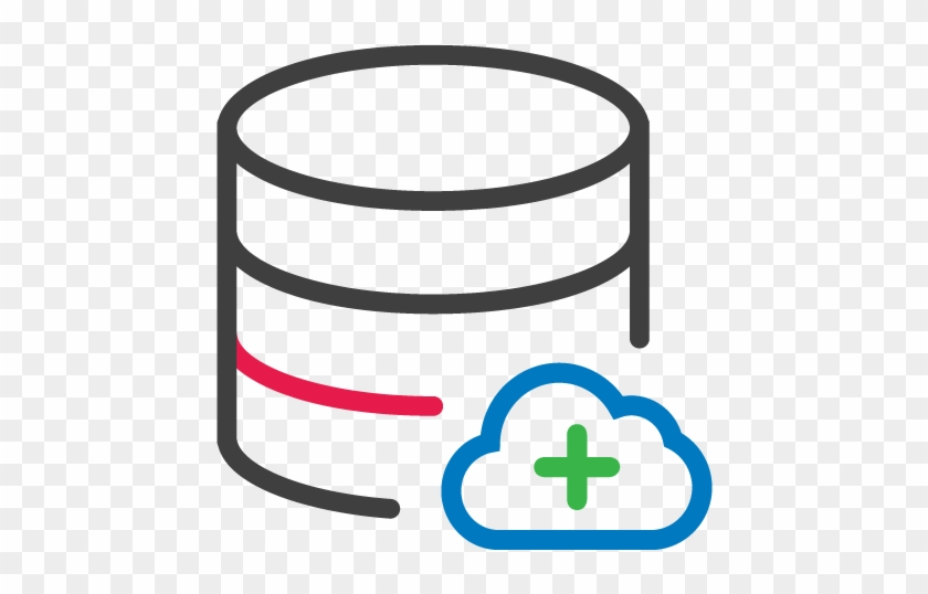 From Best In Class Infrastructure And Encrypted Data - Cloud Database Icon Png #717708