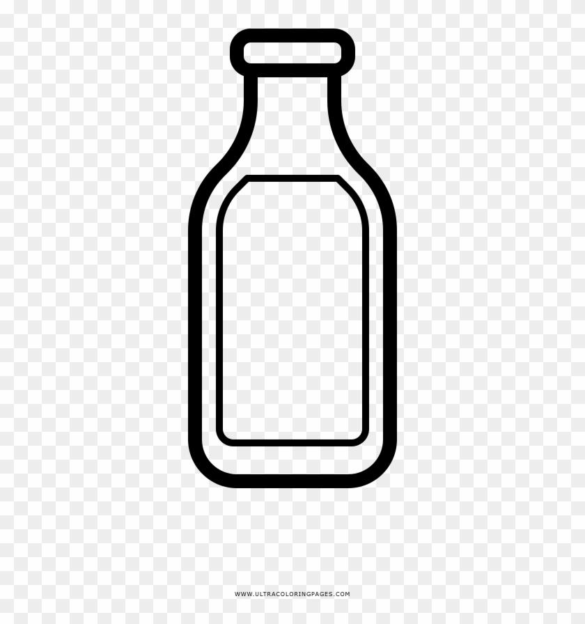 Milk Bottle Coloring Page - Botella De Leche Para Colorear - Free ...