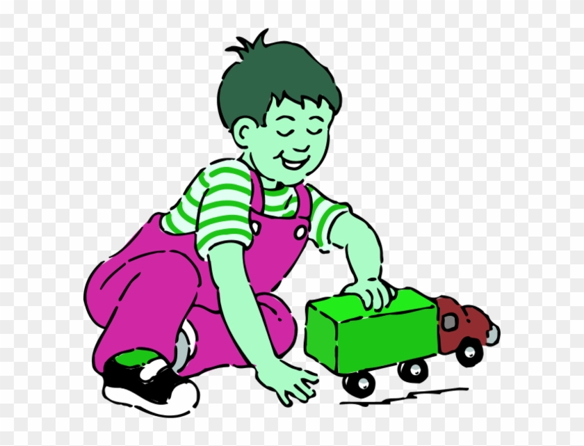 Boy Playing With Toys Clip Art Children Playing Clip Art Free