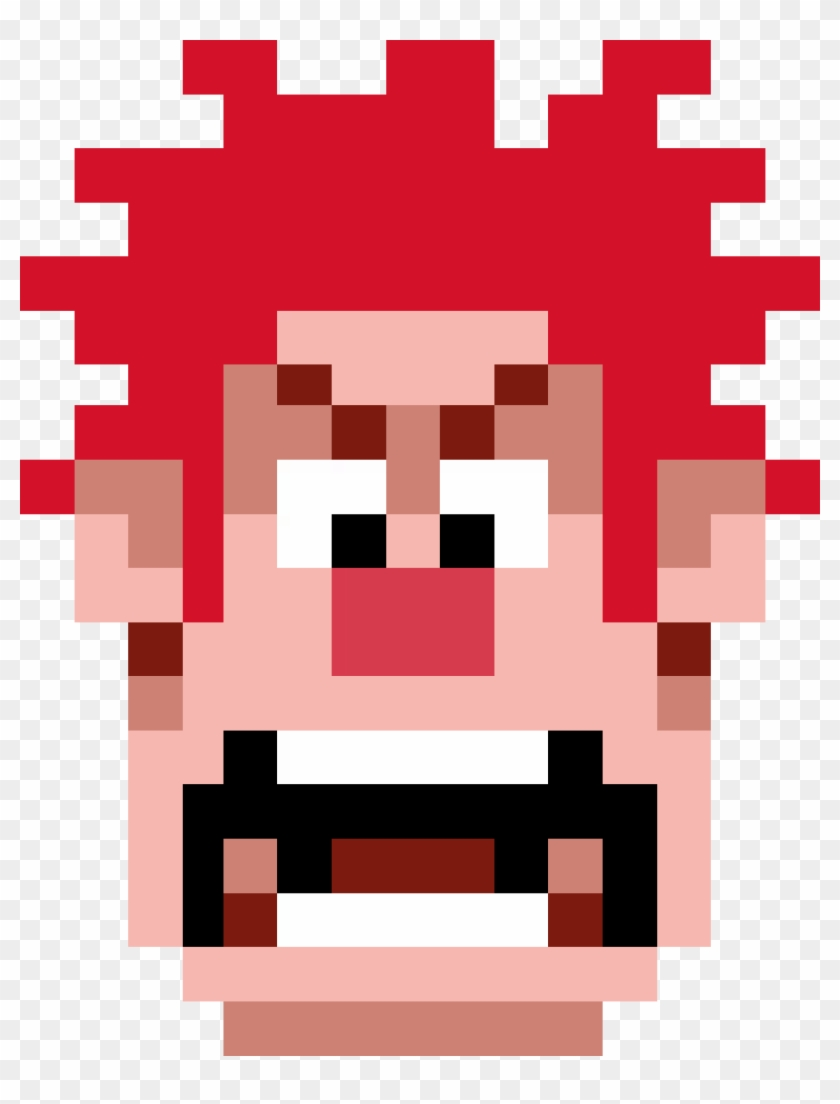 Wreck It Ralph Pixel Head Filmoa Wreck It Ralph Pixels - Sonic The Hedgehog Movie Logo #719853