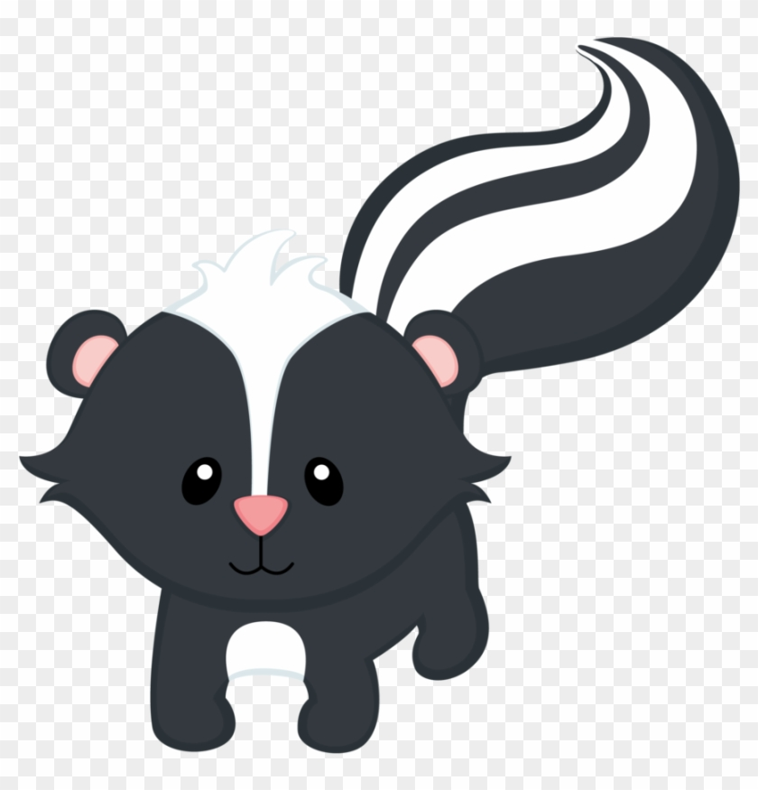 Say Hello Woodland Skunk Baby Animals Clipart Free Transparent Png Clipart Images Download