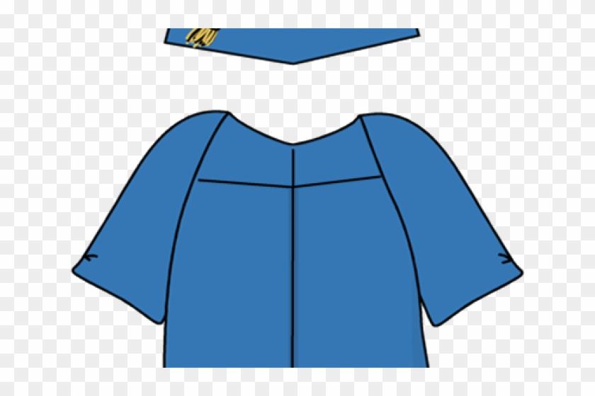 Graduation Cap And Gown Clipart - Graduation Ceremony - Free ...