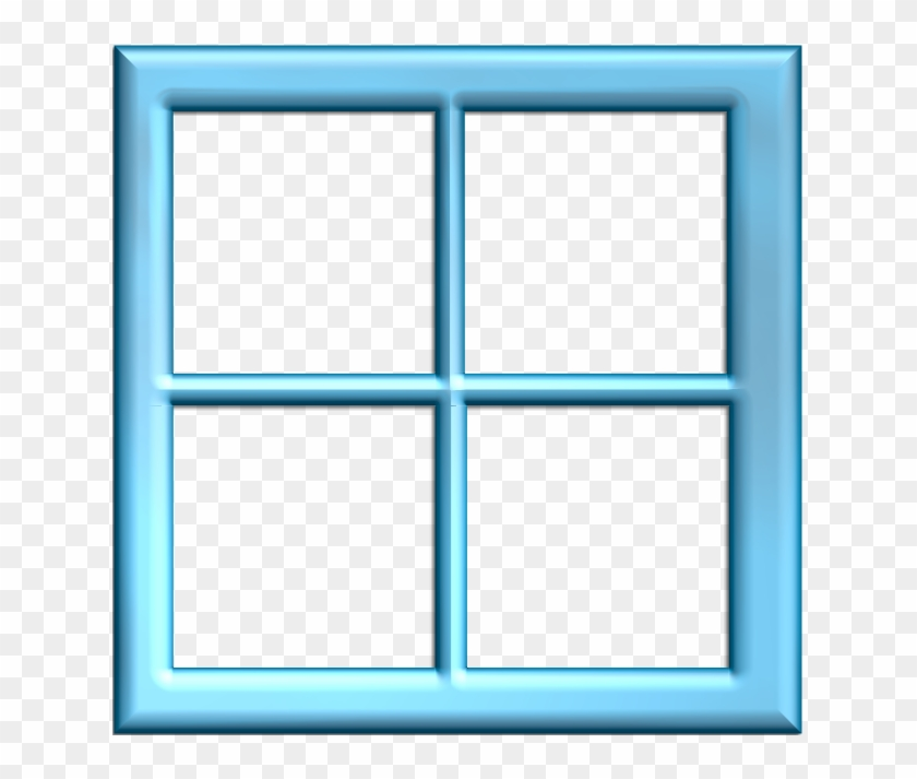 Square Clipart Window Frame Pencil And In Color Square - Window Clip ...