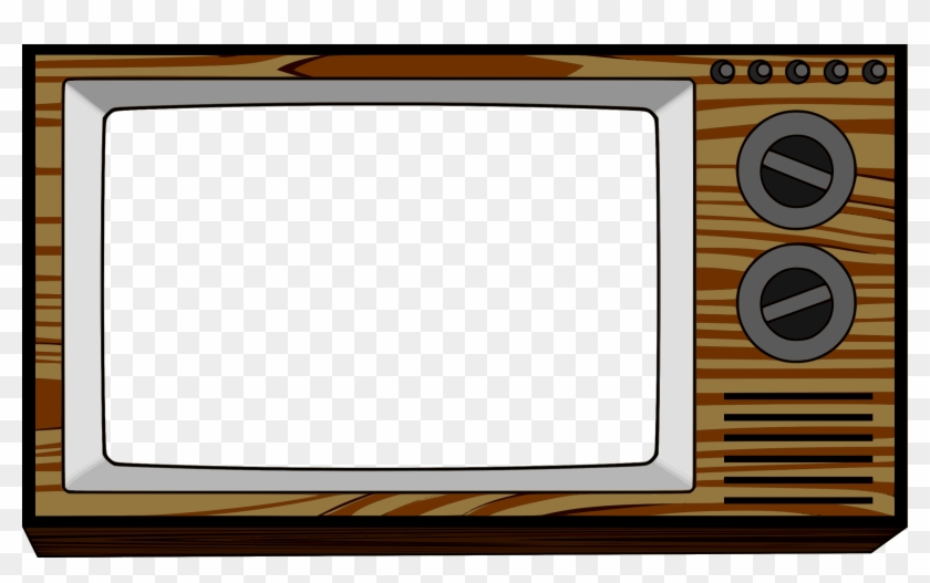 Screen Clipart Tv Frame Old Television Clip Art Free Transparent