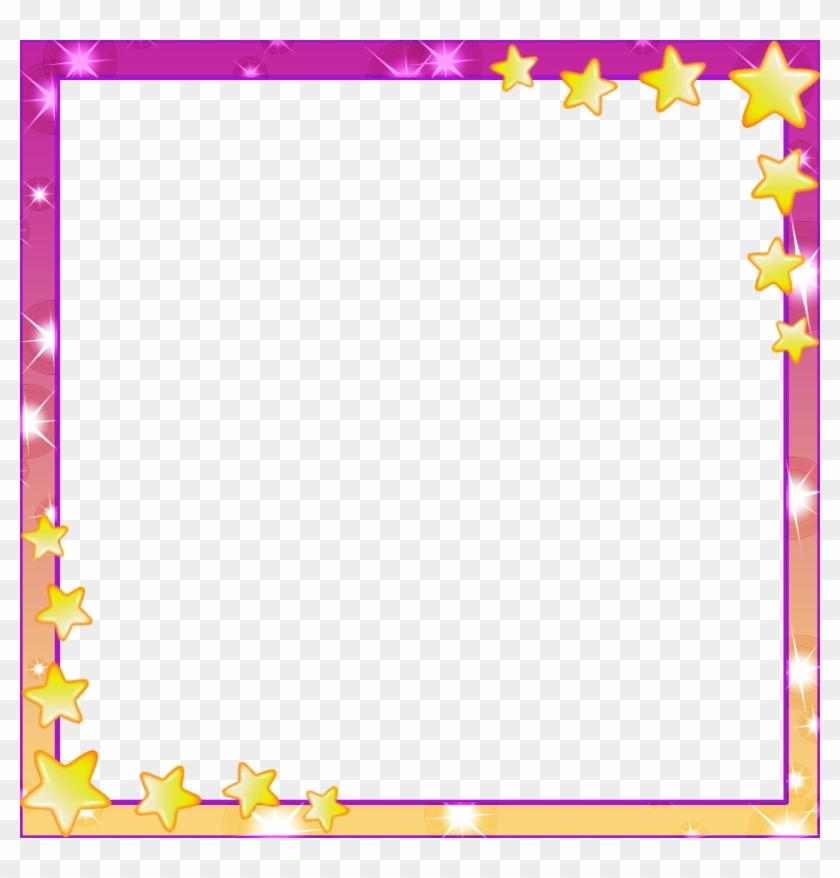 Super Star Frame By Thekarinaz On Deviantart - Picture Frame - Free ...