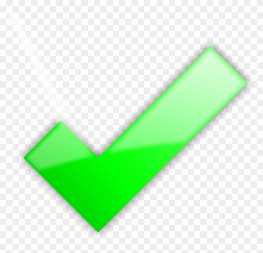 Check Clipart Big Green Big Green Check Mark Free Transparent Png Clipart Images Download