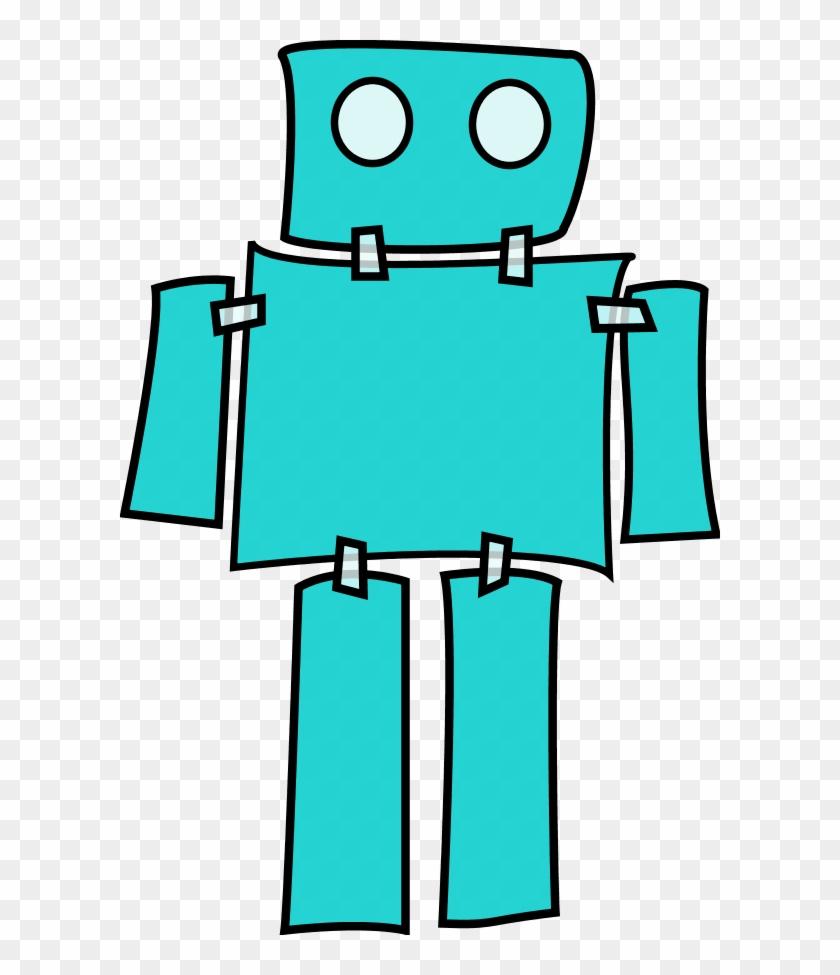 Clipart Robot Cartoon