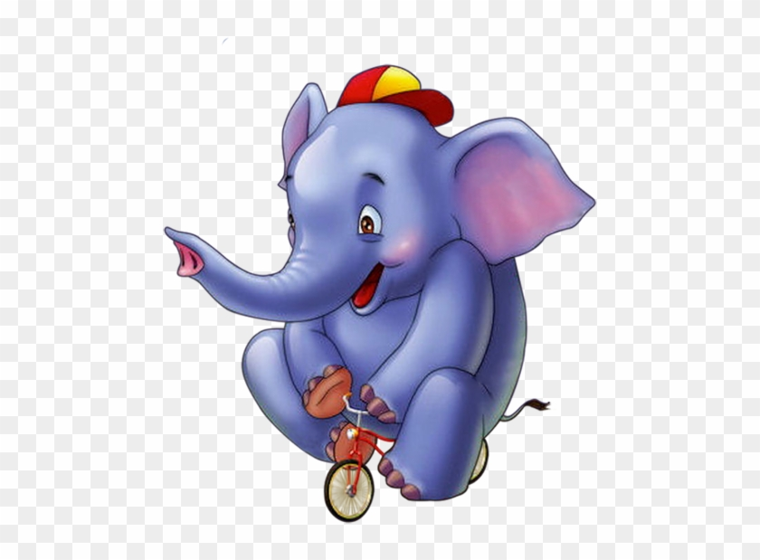Clip Art - Circus Elephant Cartoon #721710