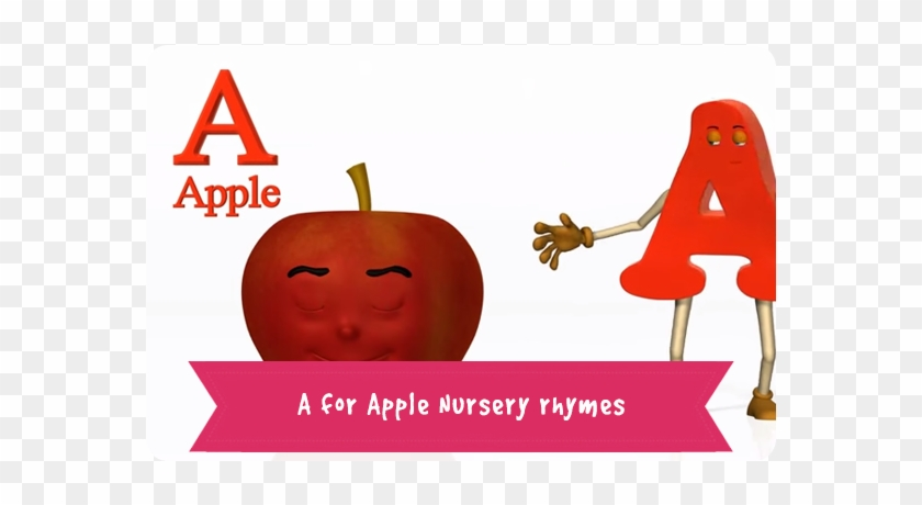 A For Apple Nursery Rhymes - Poker #722318