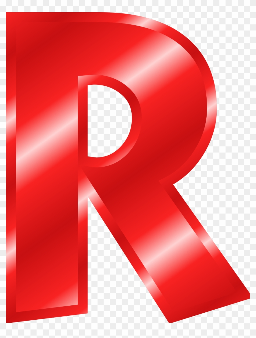 Letter Clipart Red Letter R Color Red Free Transparent Png