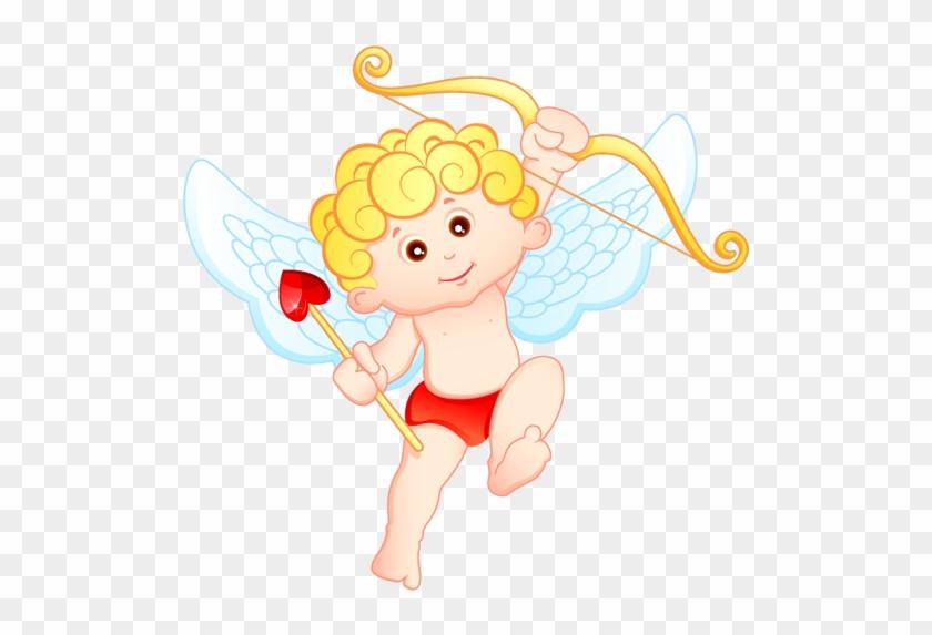 Cupid Computer Software Cartoon Clip Art - Cute Cupid #722804