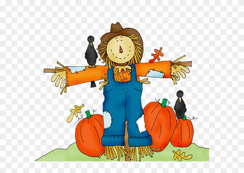Four Sections - - Scarecrow Clip Art #724388