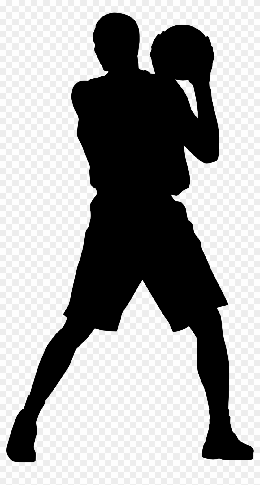 Womens Basketball Houston Rockets Sport Clip Art - Basketball Silhouette #725610