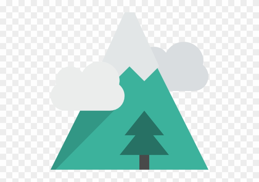 Flag Mountain Scalable Vector Graphics Icon - Tree Icon Snow #725621