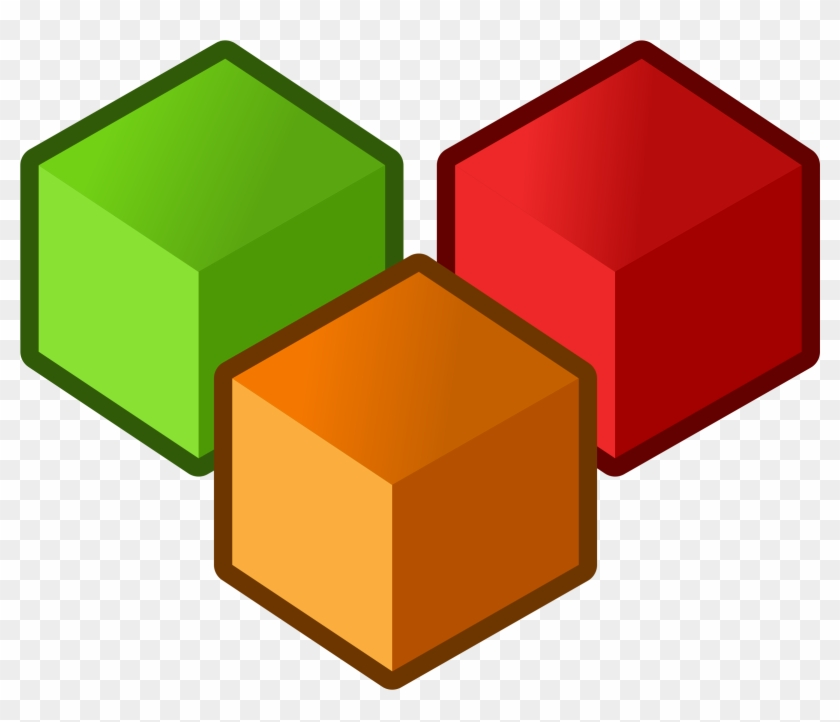 Cube Clipart Rectangle - Ballyvaughan #129588