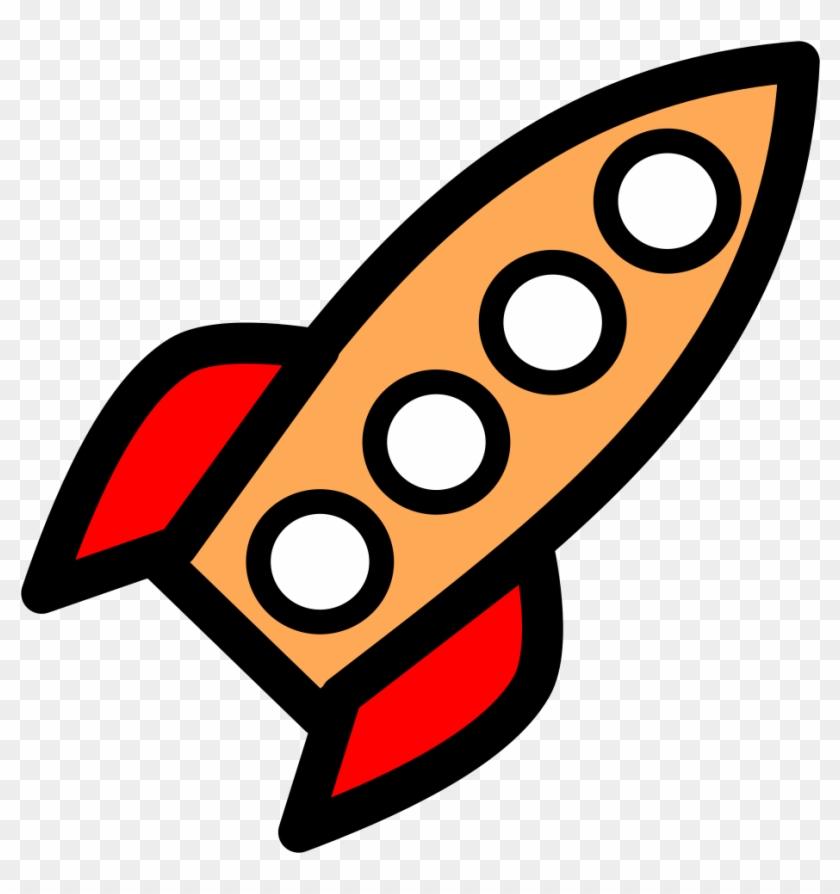 Medium Image - Animated Rocket #129699