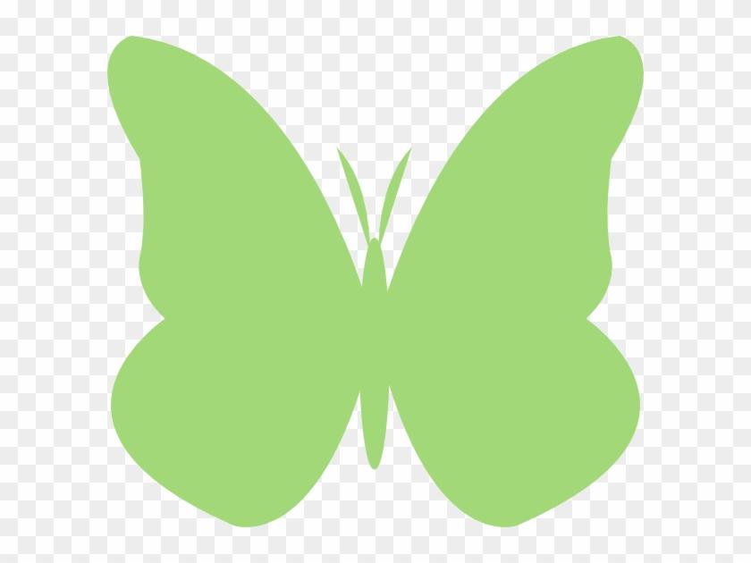 Clip Art Butterfly Green - Butterfly #129792