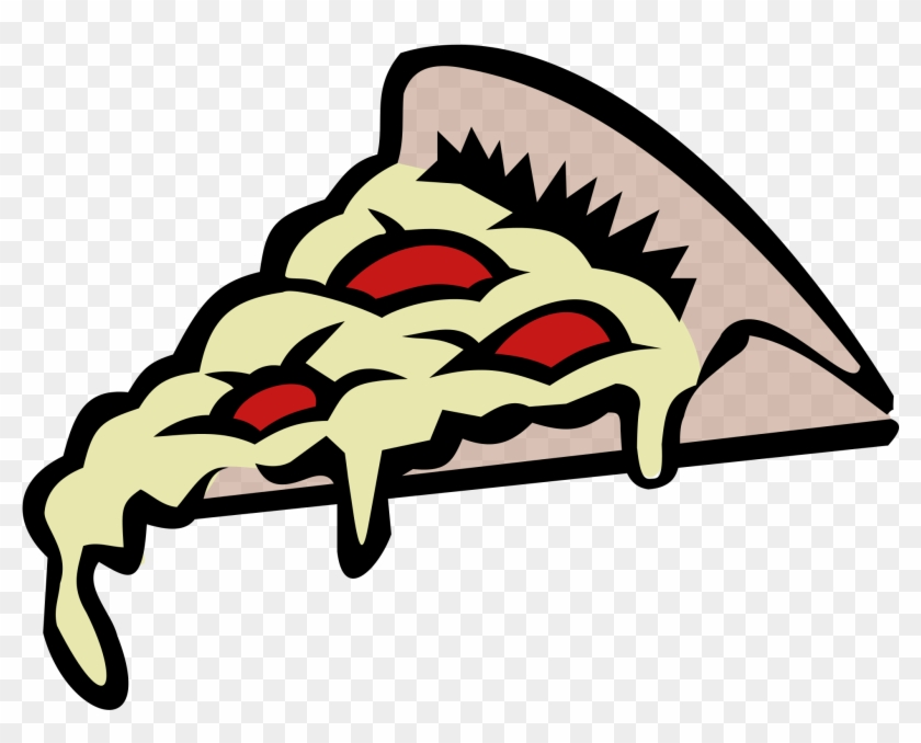 Open - Transparent Pizza Clipart #129863