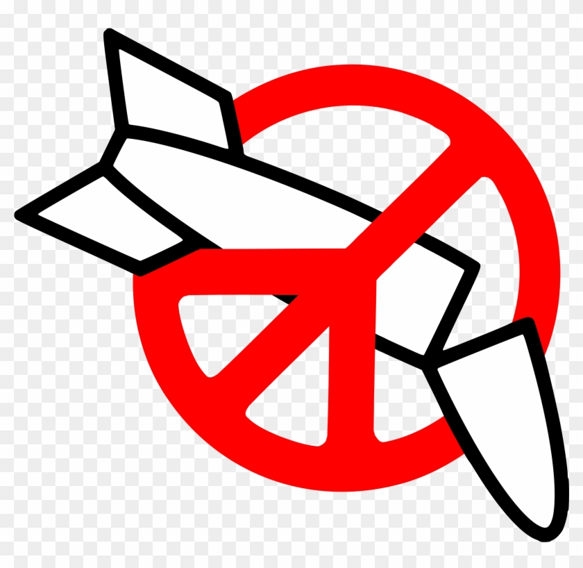 Clipart - Anti Nuclear Weapons Movement #129926