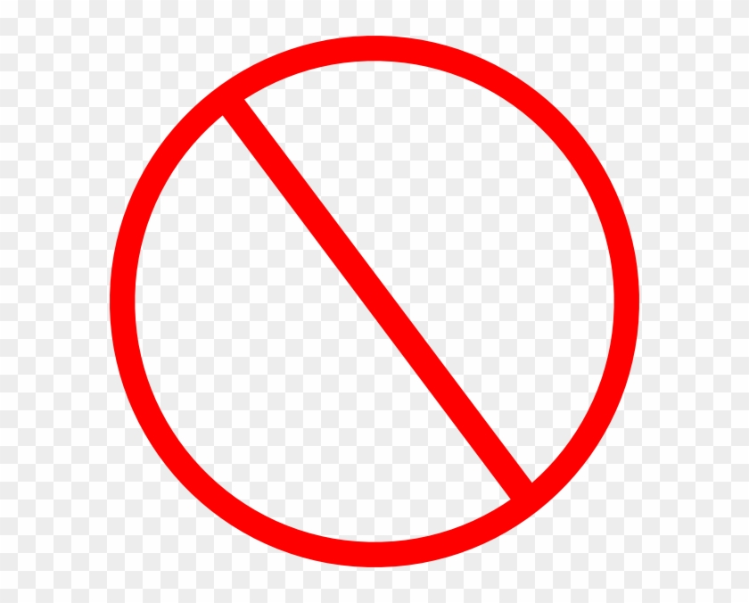 Clipart Not Allowed Anti Symbol Clip Art At Clker Vector - Mobile Phone Not Allowed #129959
