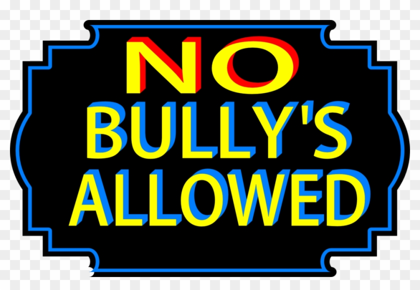 No Bullies Allowed - No Bullying Clipart Png #129964