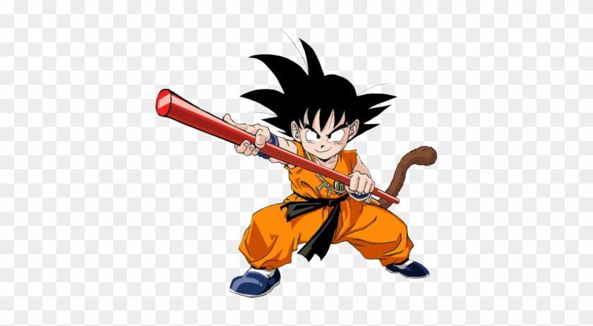 Click On - Kid Goku White Background #130027