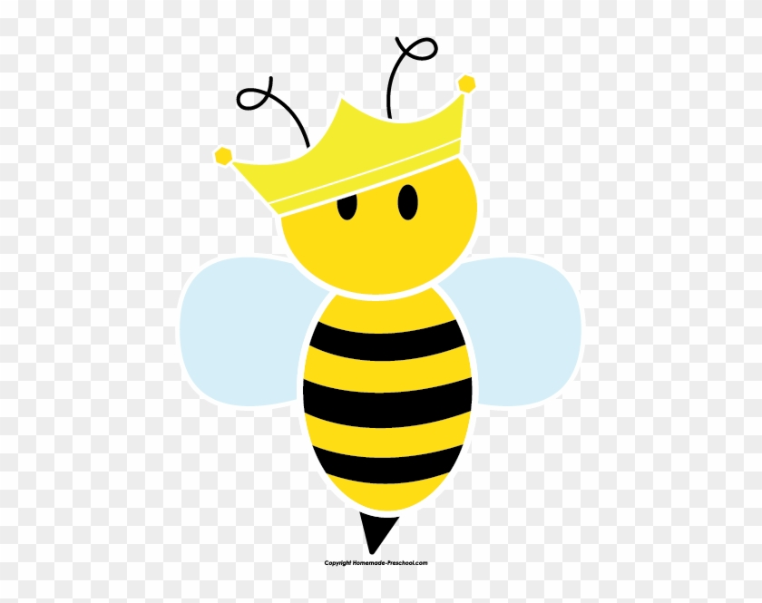 Click To Save Image - Queen Bee Clip Art #130044