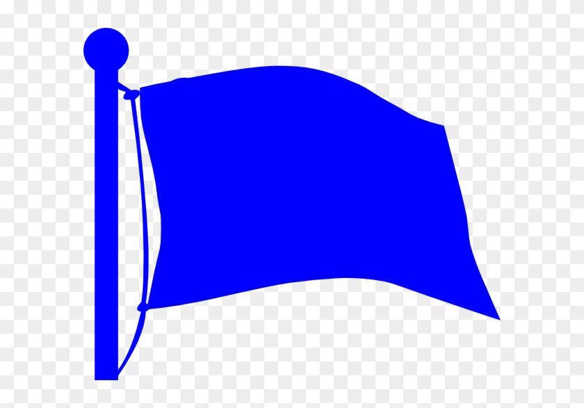 Flag Clip Art At Clker - Flag Clipart Blue #130060
