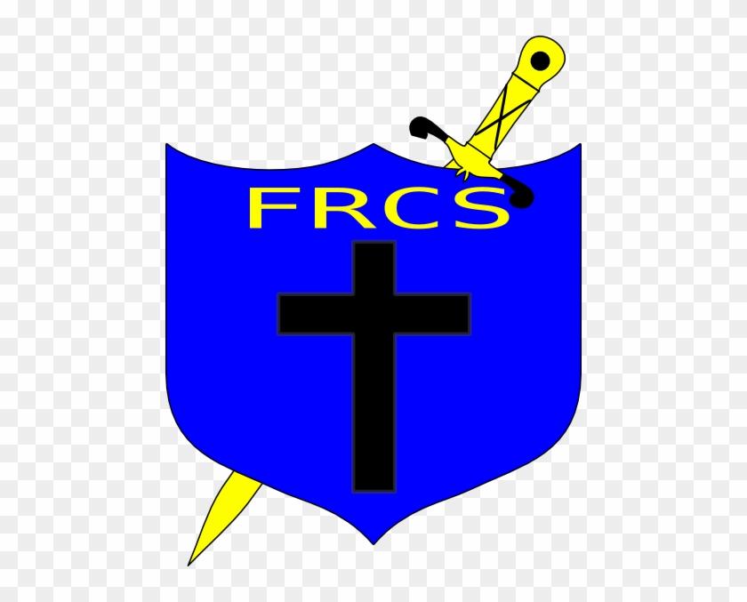 Cross Sword And Shield Clip Art At Clker Com Vector - Cross #130259