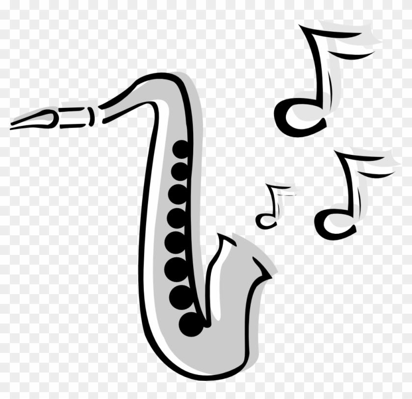 Alto Saxophone Clip Art - Musical Instruments Clip Art #130334