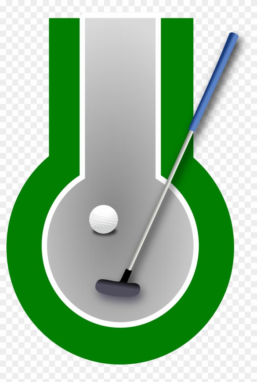 Golf Club Svg Vector File, Vector Clip Art Svg File - Putt Putt Golf Png #130397