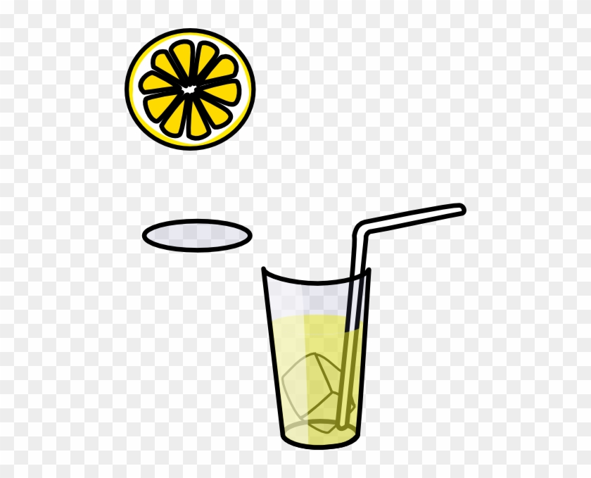 Glass Of Lemonade Clip Art - Draw A Lemonade Cup - Free