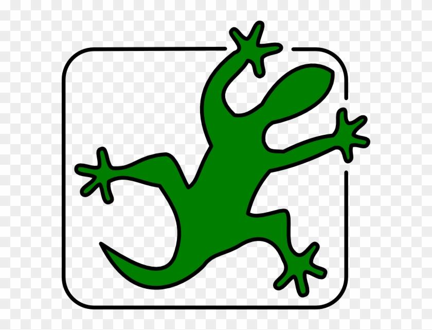 Companionship - Clipart - Lizard Clip Art #130486