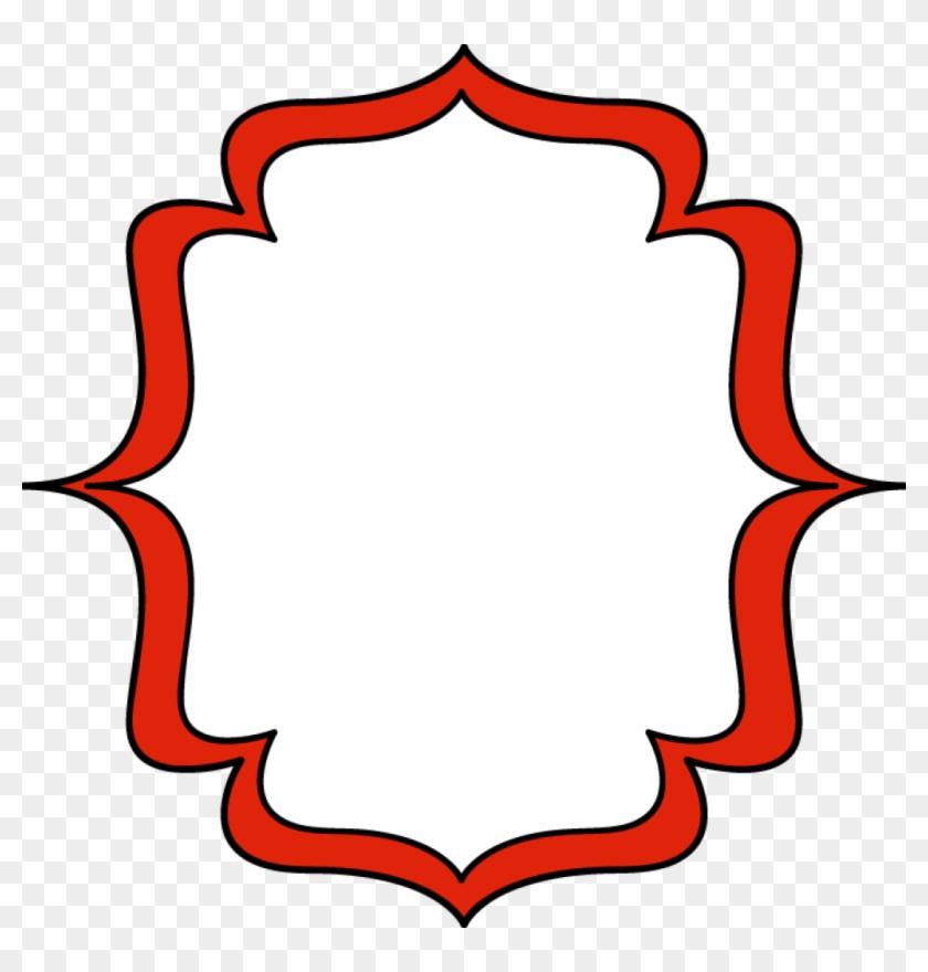 Free Digital Frames Clip Art - Red Frame Clipart Png #130719