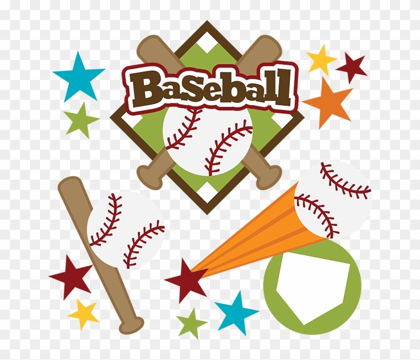 Scrapbooking Baseball Softball Clip Art - Scrapbook Baseball #130722