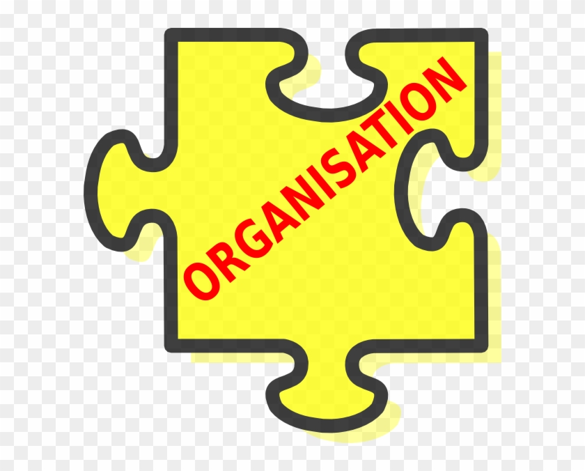 Organisation Clip Art At Clker - Puzzle Piece #130755