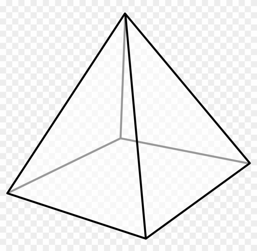 Pyramid Transparent - Square Pyramid #130901
