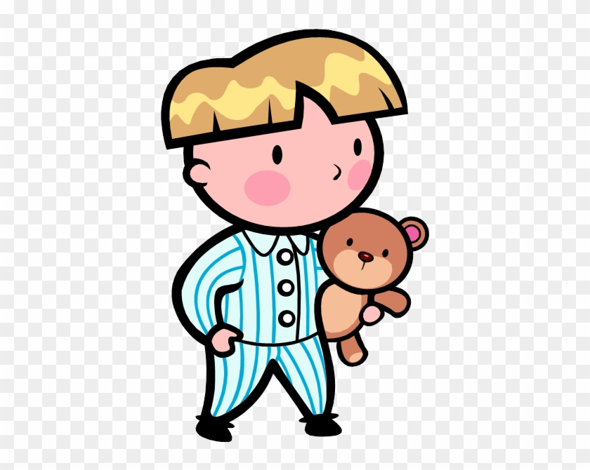 Microsoft Clipart Child - Put On Pajamas Clipart #130935