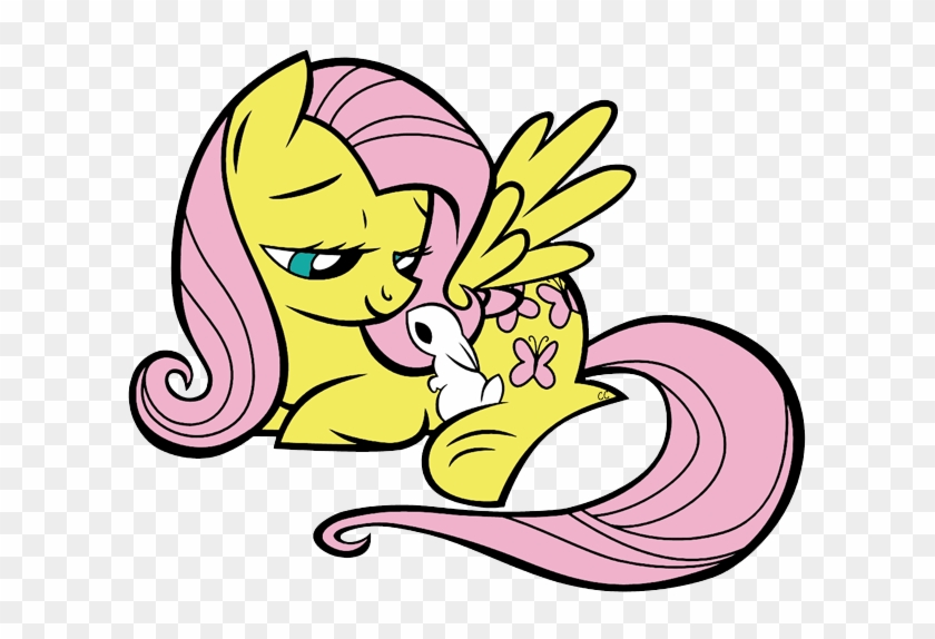 Images Were Colored And Clipped By Cartoon Clipart - My Little Pony Beach Towel #130993